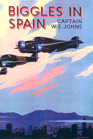 Biggles in Spain - Cover of 17-01