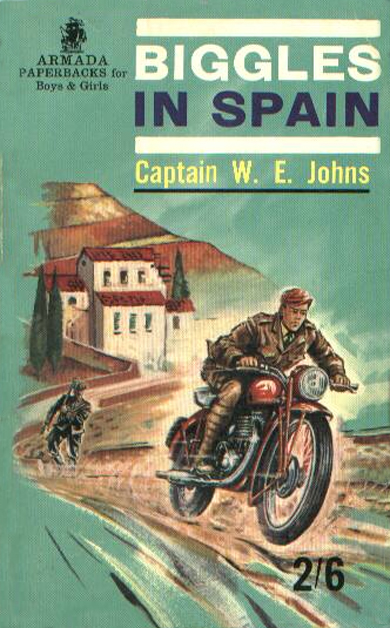 Biggles in Spain - Cover of 17-11