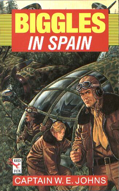 Biggles in Spain - Cover of 17-13