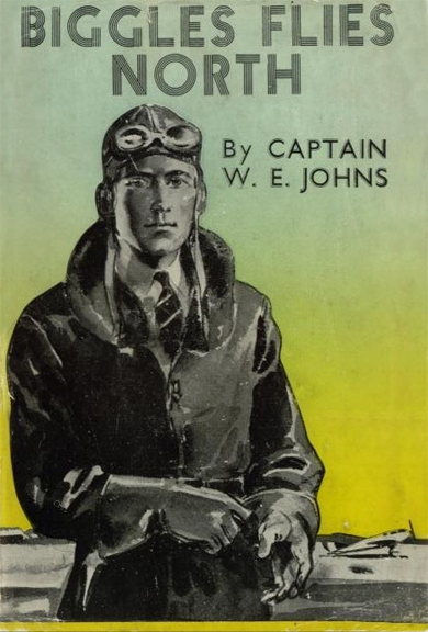 Biggles Flies North - Cover of 18-03