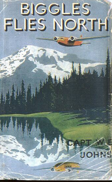 Biggles Flies North - Cover of 18-04