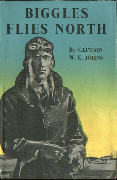 Biggles Flies North - Cover of 18-09