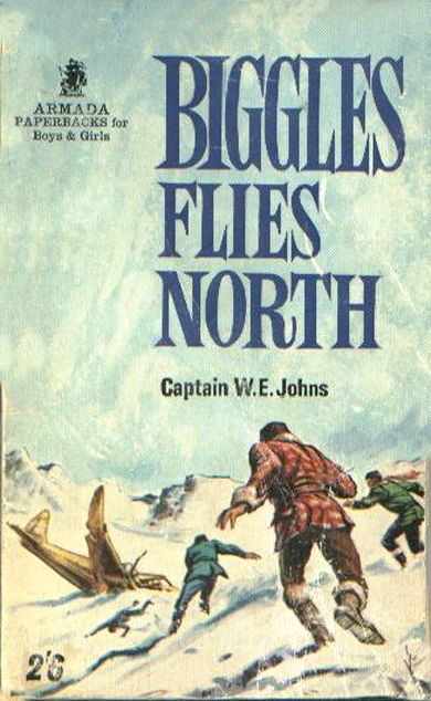 Biggles Flies North - Cover of 18-13
