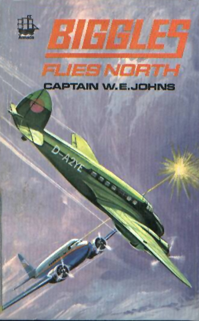 Biggles Flies North - Cover of 18-16