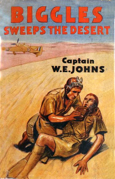 Biggles Sweeps the Desert - Cover of 26-01