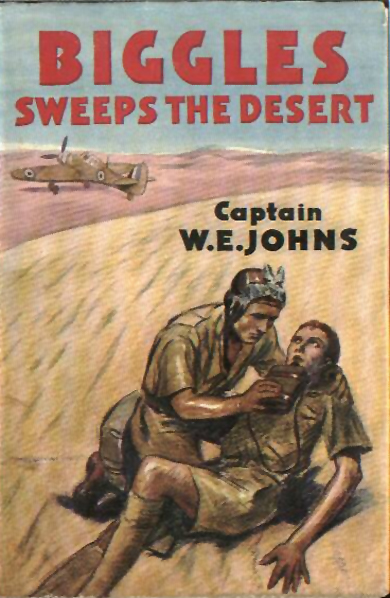 Biggles Sweeps the Desert - Cover of 26-05