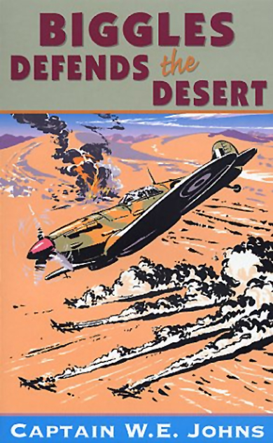 Biggles Sweeps the Desert - Cover of 26-08