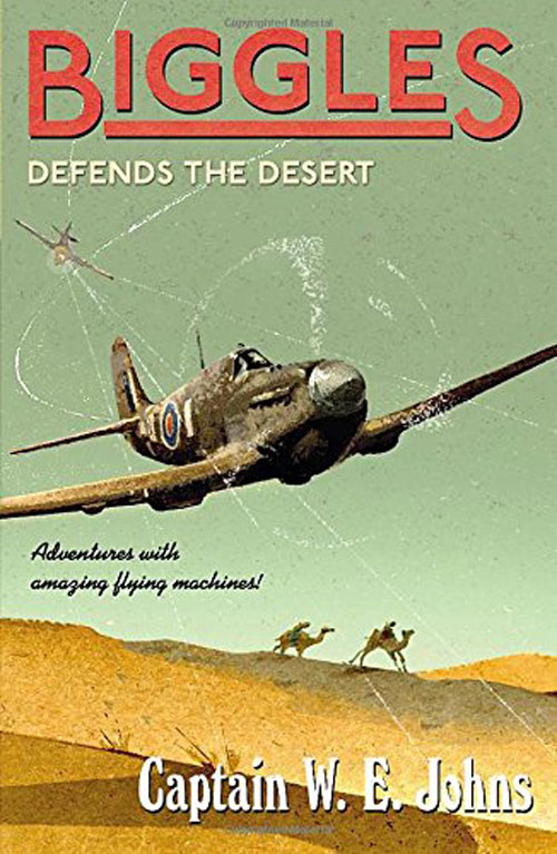 Biggles Sweeps the Desert - Cover of 26-09