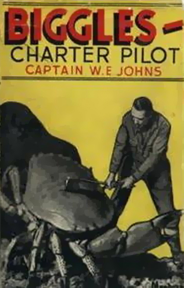 Biggles Charter Pilot - Cover for 27-01