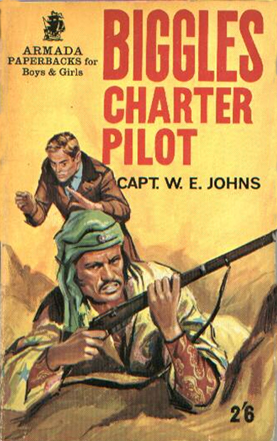 Biggles Charter Pilot - Cover of 27-08
