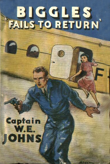 Biggles Fails To Return - Cover of 29-01