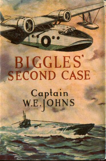 Biggles Second Case - Cover of 33-01
