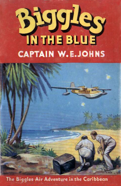 Biggles in the Blue - Cover of 45-01