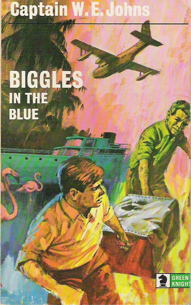 Biggles in the Blue - Cover of 45-07