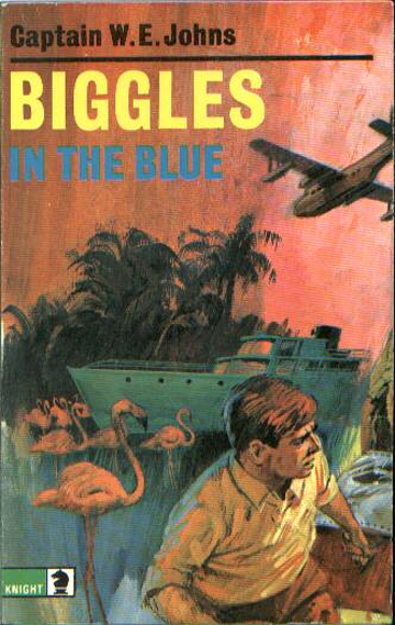 Biggles in the Blue - Cover of 45-08