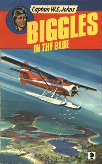 Biggles in the Blue - Cover of 45-10