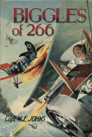 Biggles of 266 - Cover of 54-10
