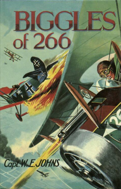 Biggles of 266 - Cover of 54-19