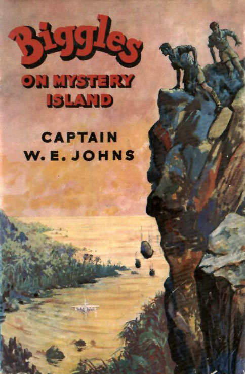 Biggles on Mystery Island - Cover of 61-02