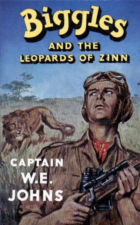 Biggles and the Leopards of Zinn - Cover of 66-01