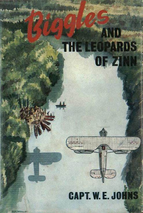 Biggles and the Leopards of Zinn - Cover of 66-03