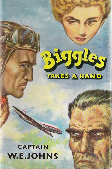 Biggles Takes a Hand - Cover of 75-01
