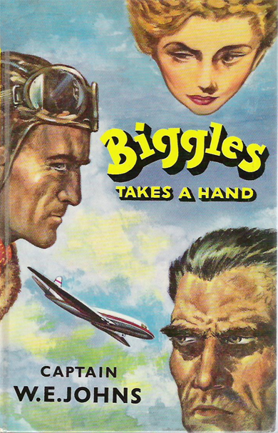 Biggles Takes a Hand - Cover of 75-02