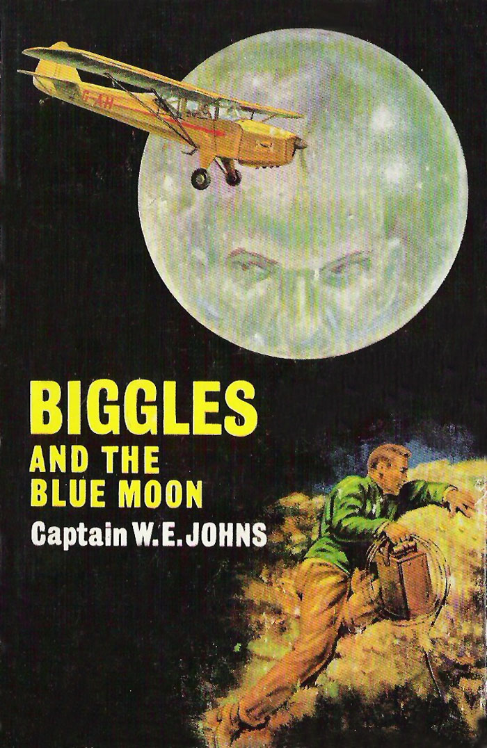 Biggles and the Blue Moon - Cover of 84-01
