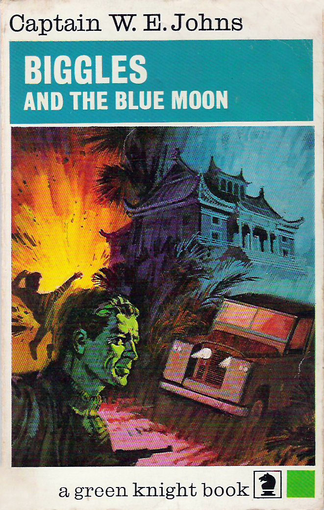 Biggles and the Blue Moon - Cover of 84-03