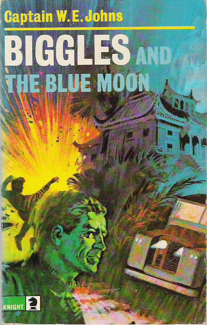 Biggles and the Blue Moon - Cover of 84-04