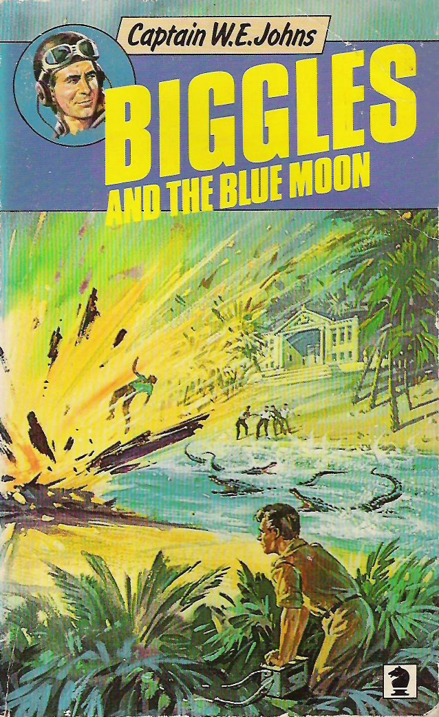 Biggles and the Blue Moon - Cover of 84-07