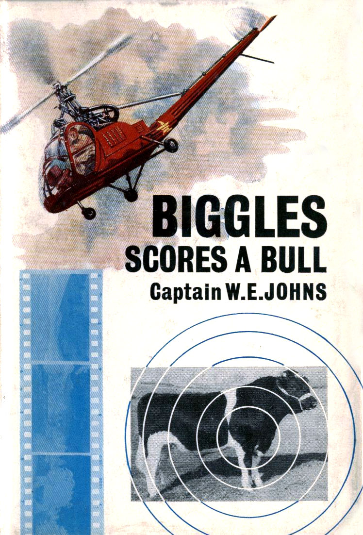 Biggles Scores a Bull - Cover of 85-01