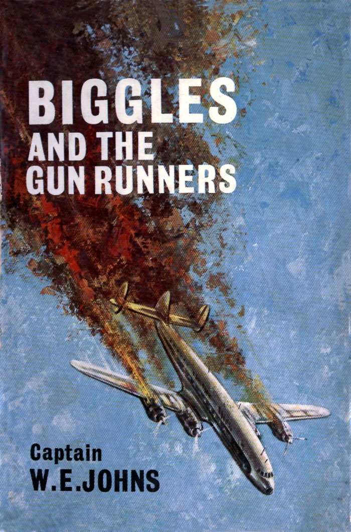 Biggles and the Gun Runners - Cover of 87-01