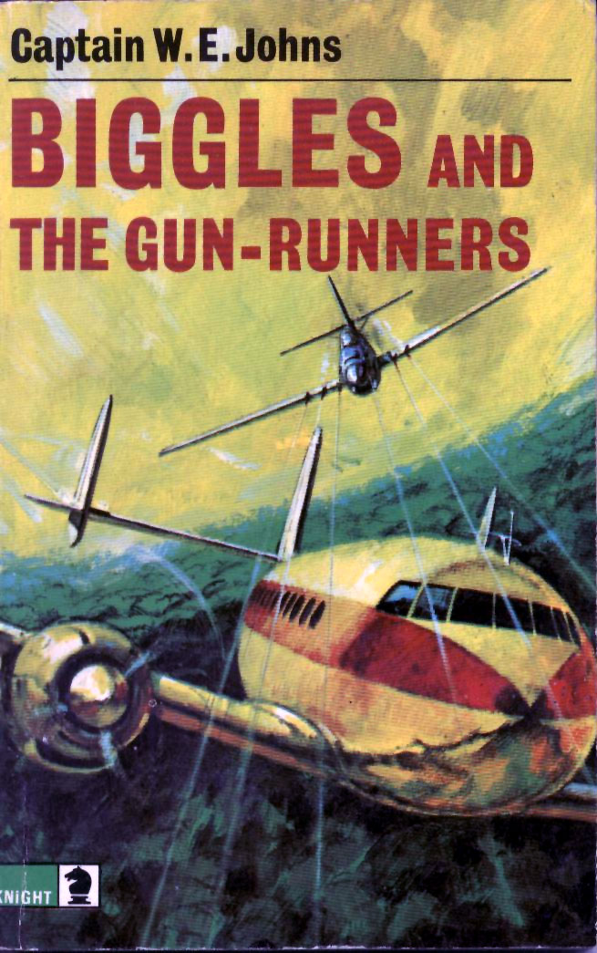 Biggles and the Gun Runners - Cover of 87-05