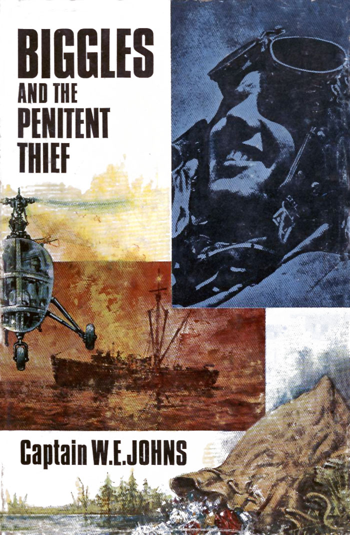Biggles and the Penitent Thief - Cover of 90-01