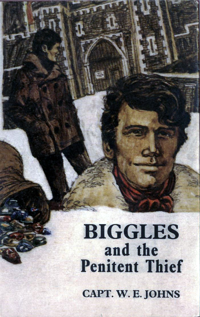 Biggles and the Penitent Thief - Cover of 90-02