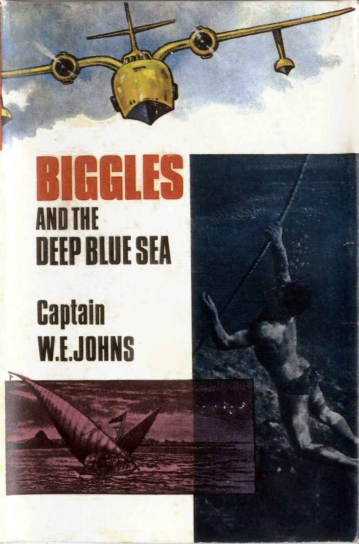 Biggles and the Deep Blue Sea - Cover of 91-01