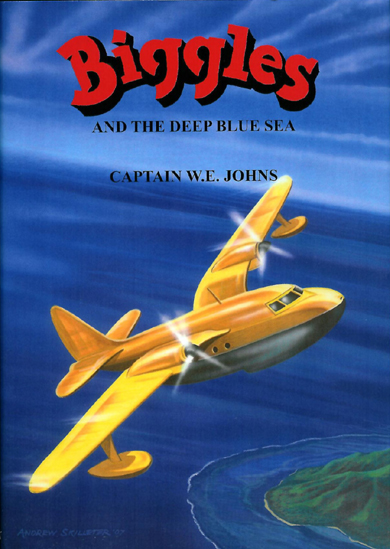 Biggles and the Deep Blue Sea - Cover of 91-04