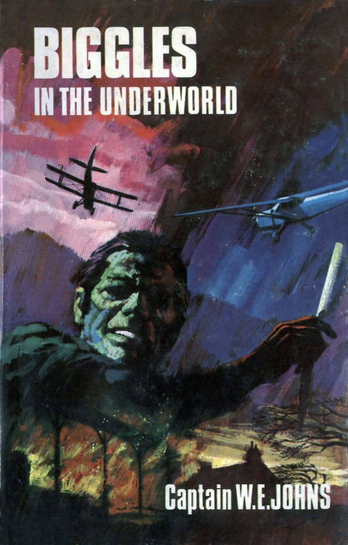 Biggles in the Underworld - Cover of 93-01