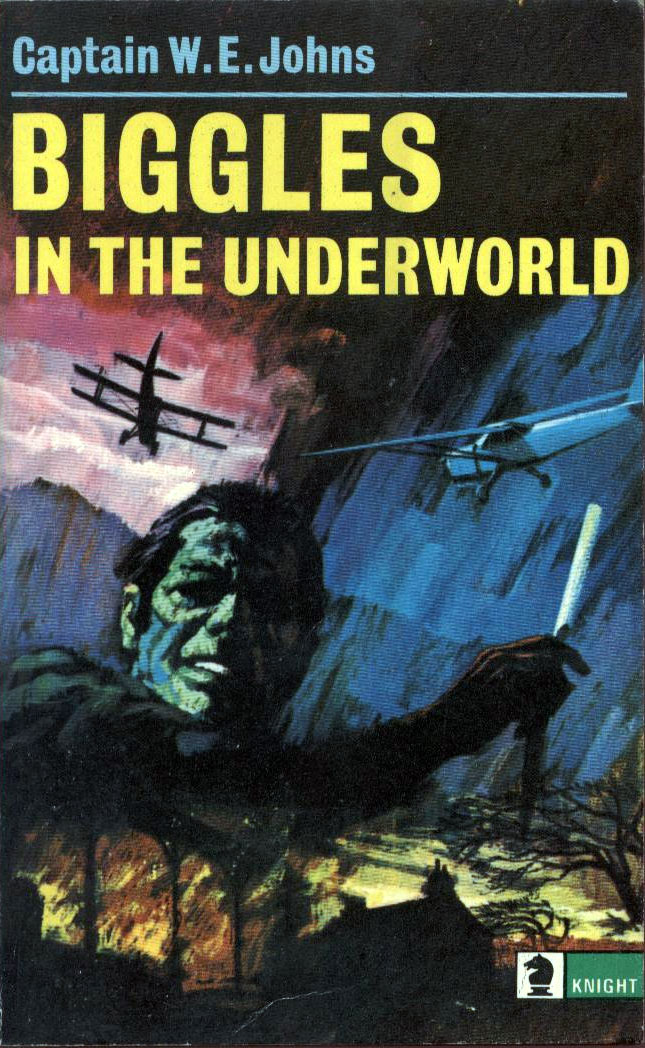 Biggles in the Underworld - Cover of 93-04