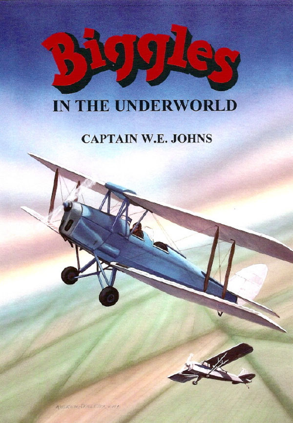 Biggles in the Underworld - Cover of 93-06
