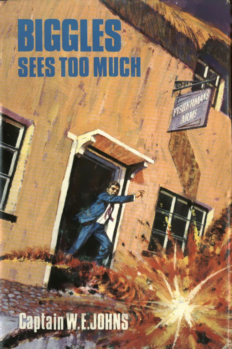 Biggles Sees Too Much - Cover of 96-01