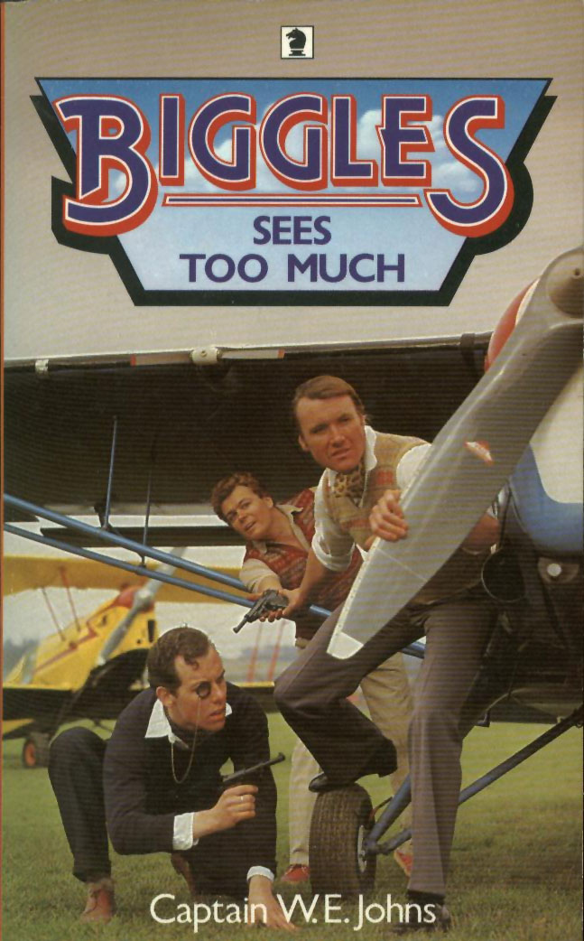 Biggles Sees Too Much - Cover of 96-03